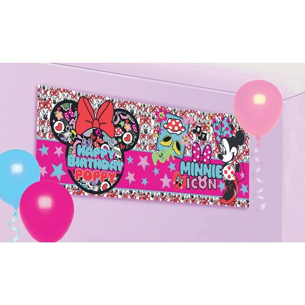 Picture of Banner Minnie Mouse personalizable