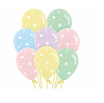 Picture of Globos colores pastel bebé (12)