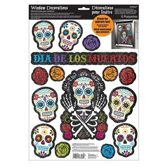 Imagen de Decorados ventana Día de los Muertos