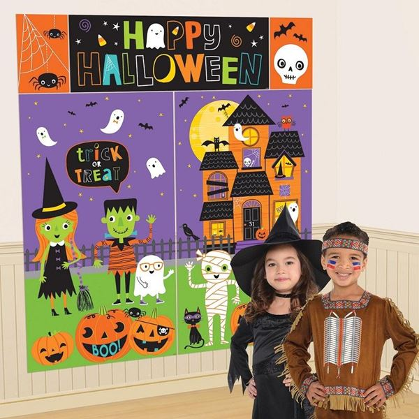 Picture of Decorados pared Halloween infantil (5)