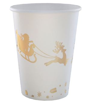 Picture of Vasos Santa claus Dorado (10)