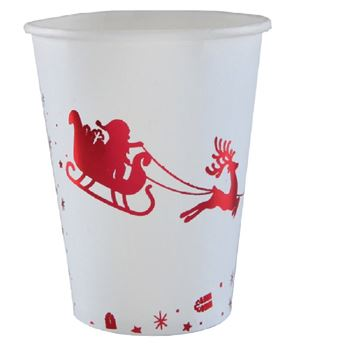 Picture of Vasos Santa claus rojo (10)