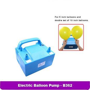 Imagens de Inflador eléctrico 2 boquillas azul