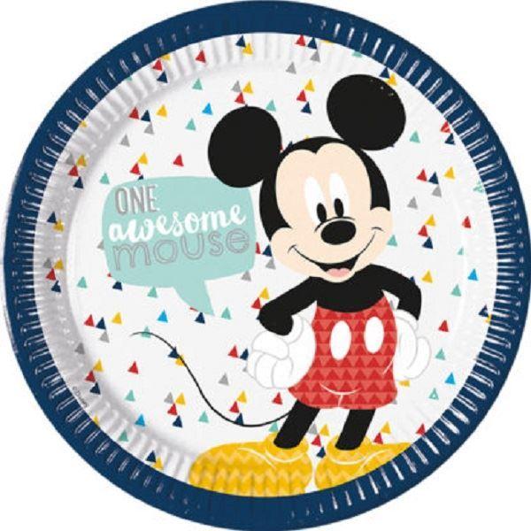 Imagen de Platos Mickey Mouse Increíble grandes (8)