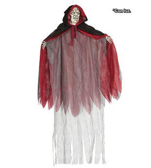 Imagen de Figura colgante vampiro con luz 160 cm