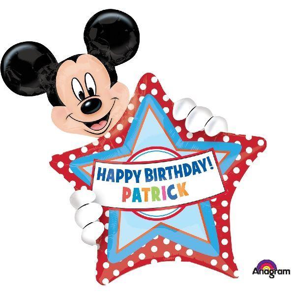Imagen de Globo Mickey Personalizable