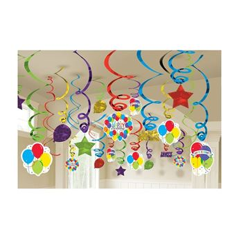 Picture of Pack decorados globos y estrellas (50)
