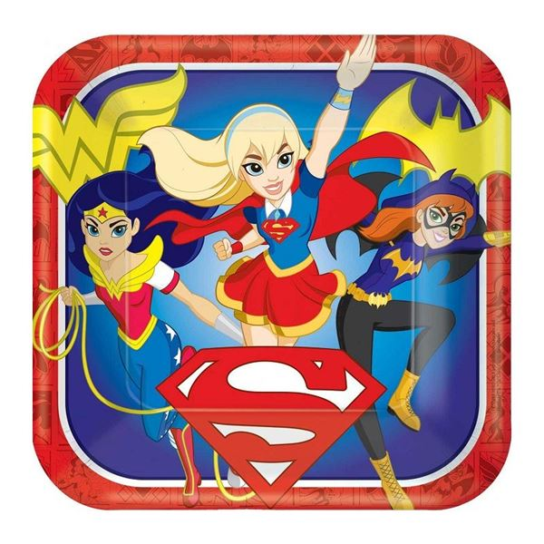 Picture of Platos Super Hero Girls grandes (8)