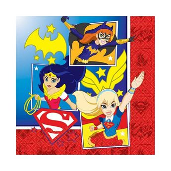 Picture of Servilletas super hero girls (16)
