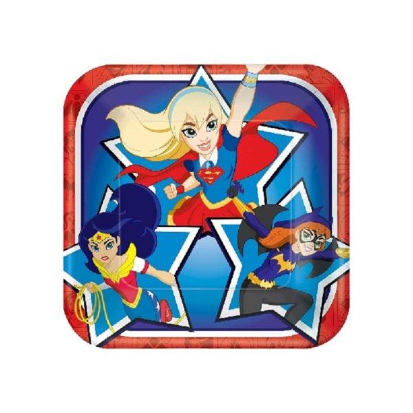Picture of Platos super hero girls pequeños (8)