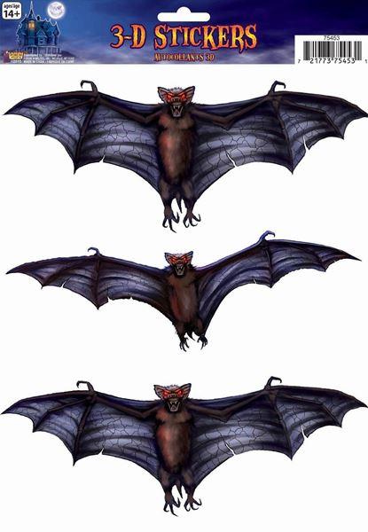 Imagen de Pegatinas 3D murciélagos