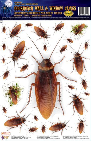 Picture of Decorados pegatinas cucarachas gigantes