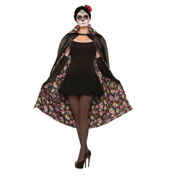 Imagen de Capa Día de los Muertos Halloween