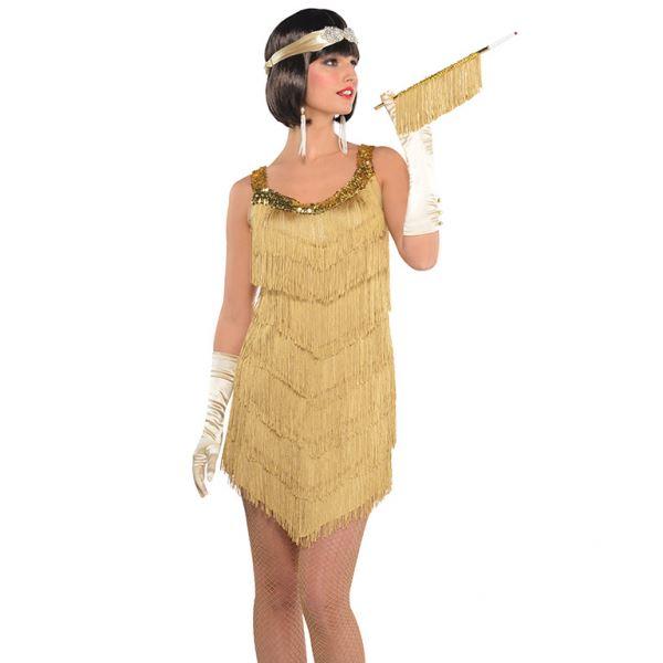 Disfraz Charleston Dorado Talla 40 42