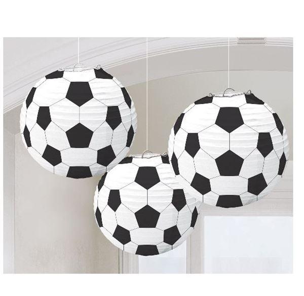 Imagens de Decorados linternas Balón de Fútbol (3)