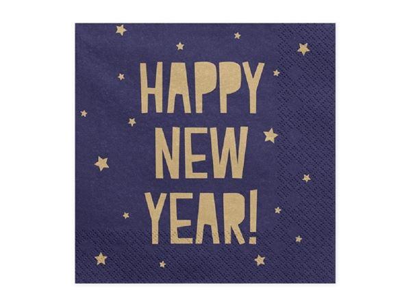 Picture of Servilletas Happy New Year azul marino (20)