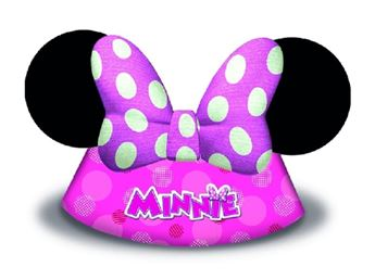Picture of Gorro cono forma Minnie Mouse (6)