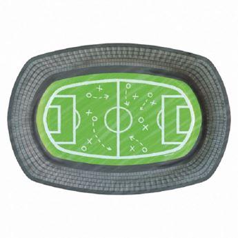Imagens de Bandejas snack Liga  de Fútbol 24cm (6)