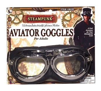 Picture of Accesorio gafas aviador Steampunk
