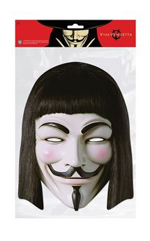 Picture of Máscara Anonymous V de Vendetta cartón