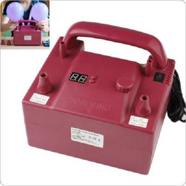 Picture of Inflador eléctrico 2 boquillas / temporizador