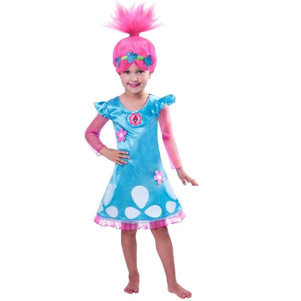 Imagen de Disfraz Poppy Trolls (Talla 3-4 años)