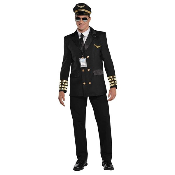 Picture of Disfraz Piloto aviador Talla M