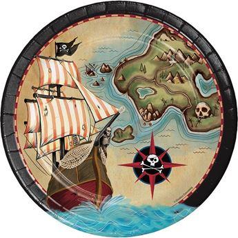 Picture of Platos Piratas del caribe grandes (8)