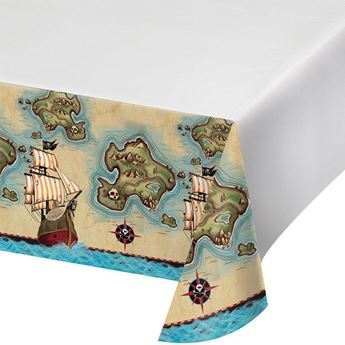 Picture of Mantel plástico Piratas del caribe