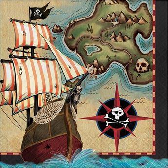Imagen de Servilletas Piratas del caribe (16)