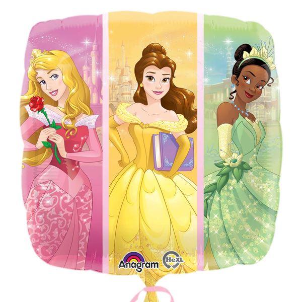Picture of Globo princesas Disney Cuadrado