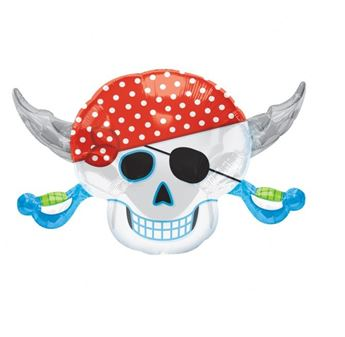 Picture of Globo pirata calavera