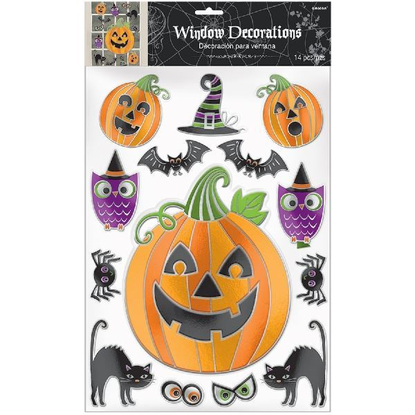 Picture of Pegatinas ventana Halloween con relieve