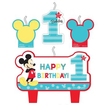 Picture of Vela set Mickey Mouse 1 añito (4)