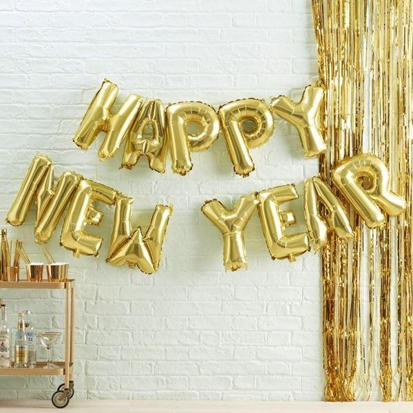 Imagens de Globos kit Happy New Year