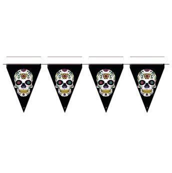 Imagen de Banderín Día de los Muertos Catrinas (3m)