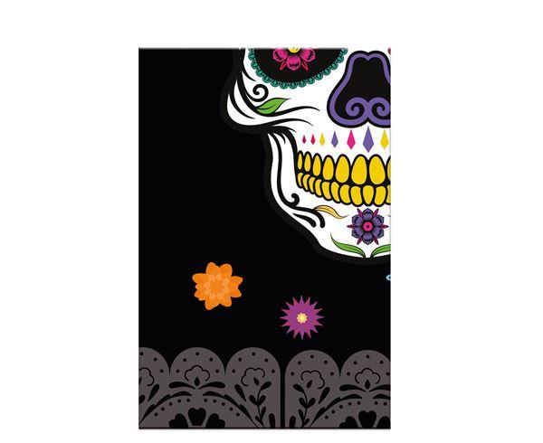 Imagens de Mantel Día de los Muertos Catrinas