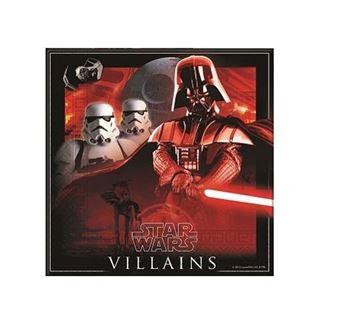Imagen de Servilletas Star Wars héroes y villanos (20)