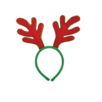Imagen de Diadema cuernos reno navidad