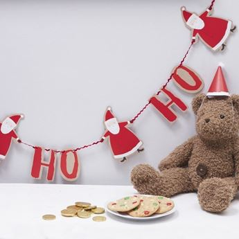 Picture of Guirnalda Santa Claus Ho-Ho-Ho (2m)