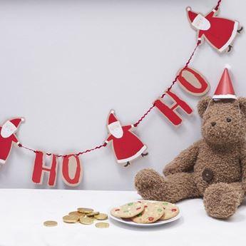 Imagen de Guirnalda Santa Claus Ho-Ho-Ho (2m)