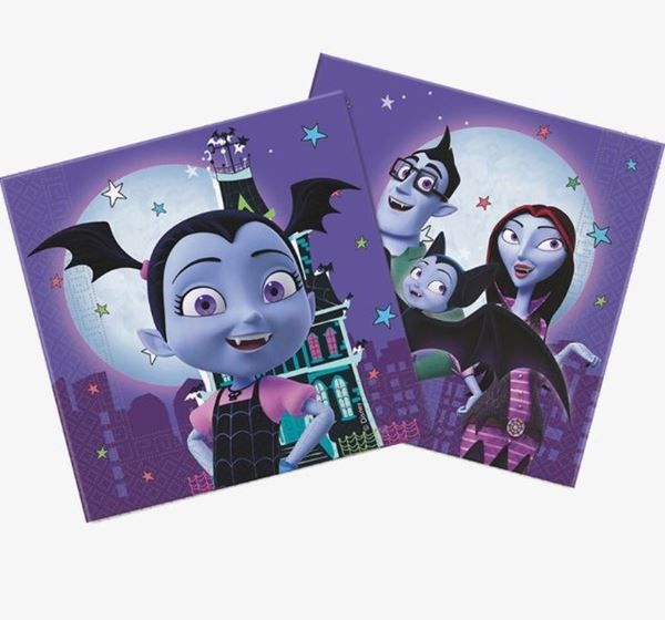 Picture of Servilletas Vampirina (20)