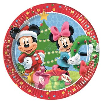 Picture of Platos Mickey Mouse Navidad (8)
