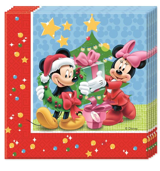Imagens de Servilletas Mickey Mouse Navidad (20)