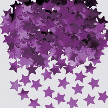 Imagens de Confeti estrellas moradas (14g)