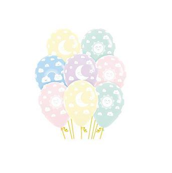 Imagens de Globos colores sol y luna pastel (12)