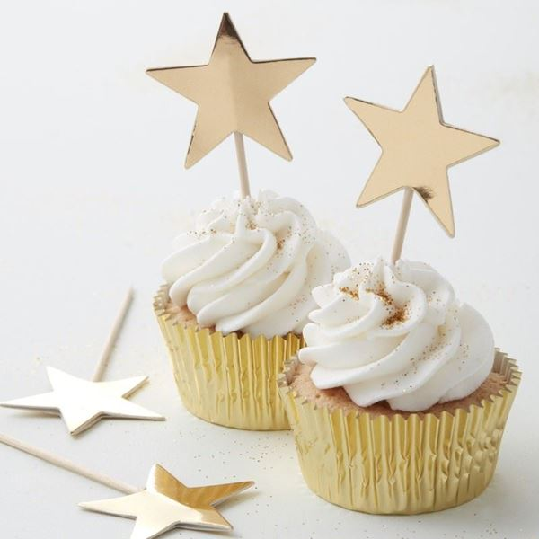 Imagen de Topper estrellas doradas (10)