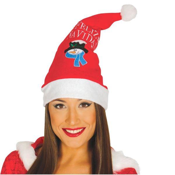 Picture of Gorro Papá Noel Feliz Navidad