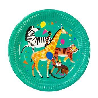 Picture of Platos animales Fiesta jungla (8) * Ultimas Uds *
