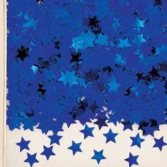 Imagens de Confeti estrellas azules (14g)